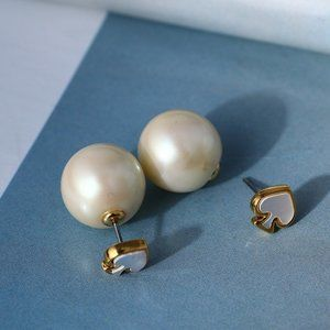 Kate Spade Shell Heart-shaped Earring